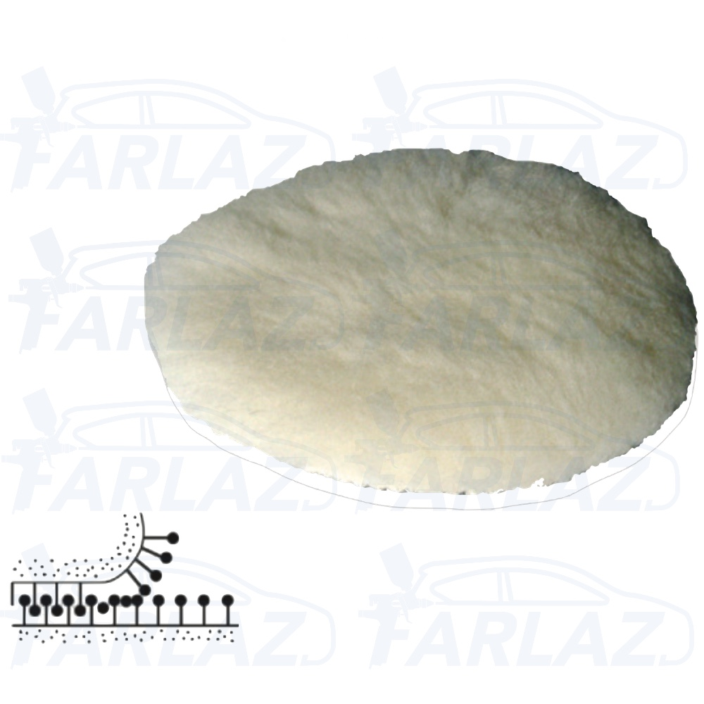 Polishing lamb fur disc 150mm